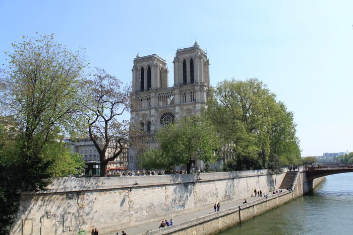 Париж. Нотр-Дам де Пари.