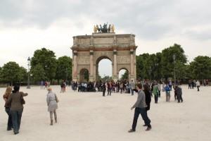 Париж. Малая Триумфальная арка.