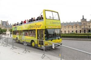 Париж. Экскурсионный автобус.