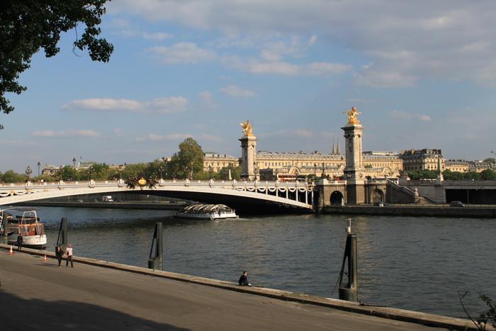 Париж. Мост Александра 3.
