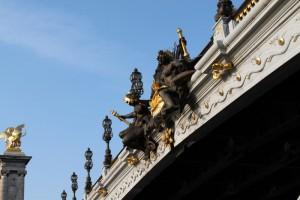 Париж. Мост Александра 3. Нимфы.
