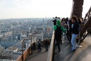 Париж. Эйфелева башня. Второй уровень.