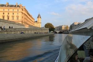 Париж. Сена. Прогулка на катере.
