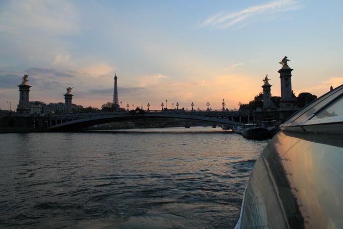 Париж. Сена. Мост Александра 3.