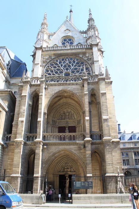 Париж. Часовня Сент-Шапель.
