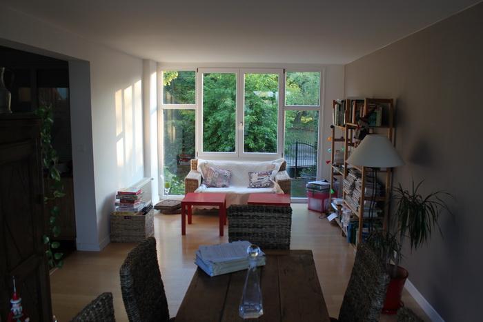 Марли ле Руа. Пригород Парижа. Обычный дом французов.