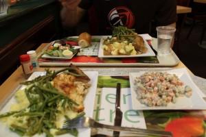 Париж. Обедаем в Латинском квартале.
