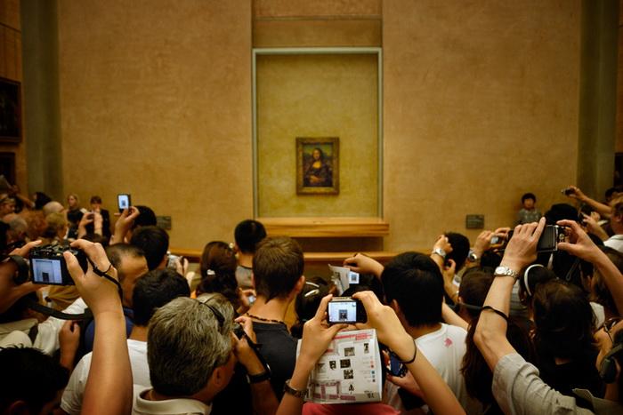 Париж. Лувр. Мона Лиза.