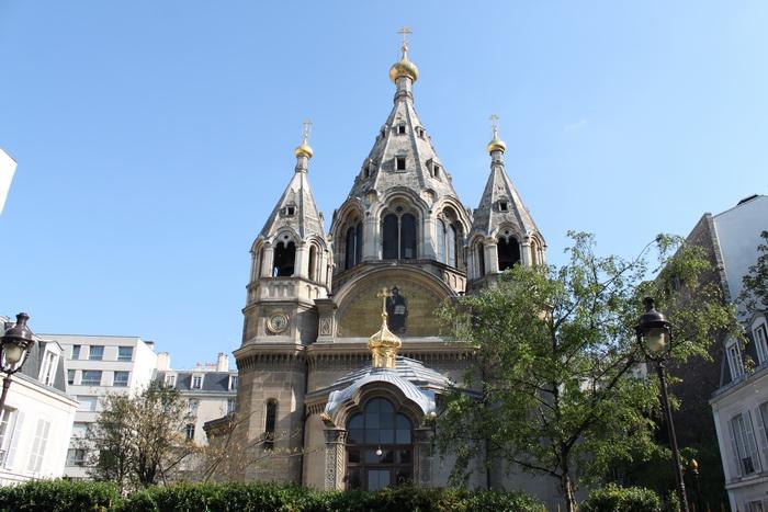 Париж. Собор Александра Невского.