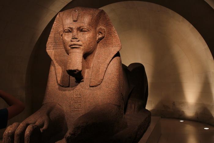 Париж. Лувр. Египетская экспозиция.