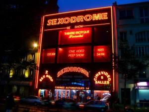 Париж. Улица красных фонарей.