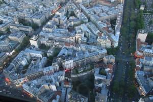 Париж. Монпарнас. Вид со смотровой площадки.