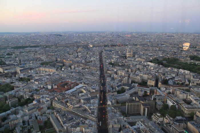 Париж. Монпарнас. Уличные артерии.