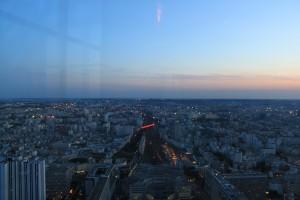 Париж. Монпарнас. Смотровая площадка.