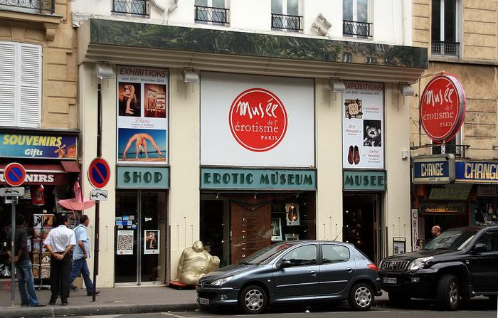Париж. Музей эротики.