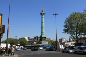 Париж. Площадь Бастилии.