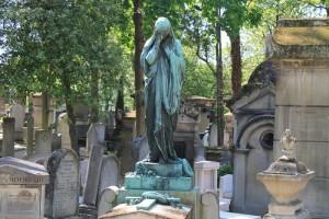 Париж. Кладбище Пер-Лашез.