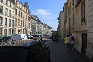 Улочками Версаля, идем к станции SNCF.