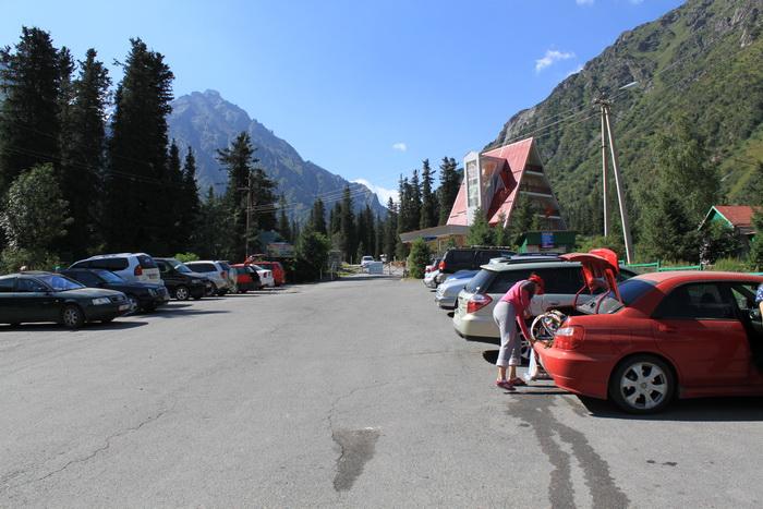Киргизия. Альплагерь Ала-Арча. Август.