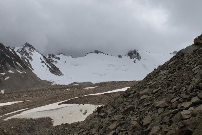 Киргизия. Ледник Адыгене.