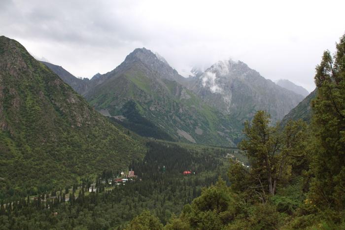 Киргизия. Природный парк Ала-Арча.