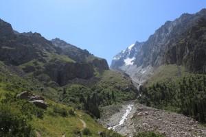 Киргизия. Дорога к хижине Рацека. Август.