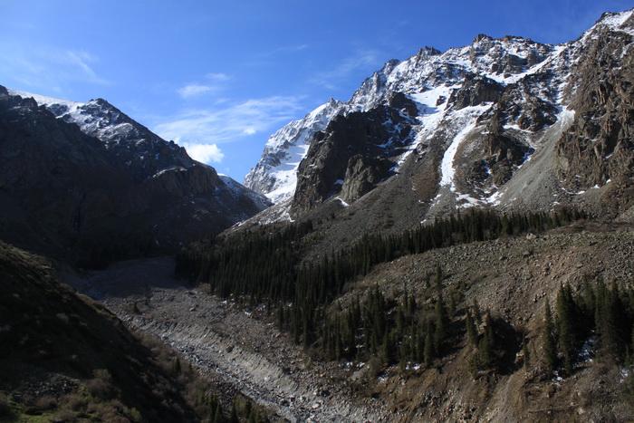 Киргизия. Дорога к хижине Рацека. Май.
