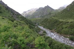 Киргизия. По дороге на Адыгене.