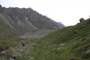 Киргизия. Первый турецкий вал по дороге на Адыгене.