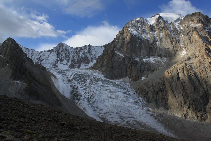 Киргизия. Ак-Сайсксий ледник.