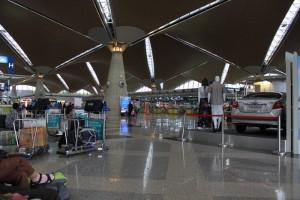 Малайзия. Куала-Лумпур. Аэропорт KLIA. Главный терминал.