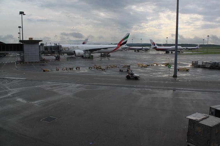 Малайзия. Куала-Лумпур. Аэропорт KLIA.