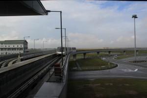 Малайзия. Куала-Лумпур. Аэропорт KLIA. Монорельс.