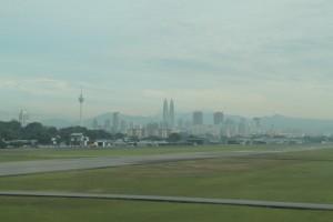 Малайзия. Панорама Куала-Лумпура.