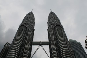 Малайзия. Куала-Лумпур. Башни Петронас.