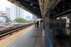 Куала-Лумпур. Станция метро Pasar Seni.