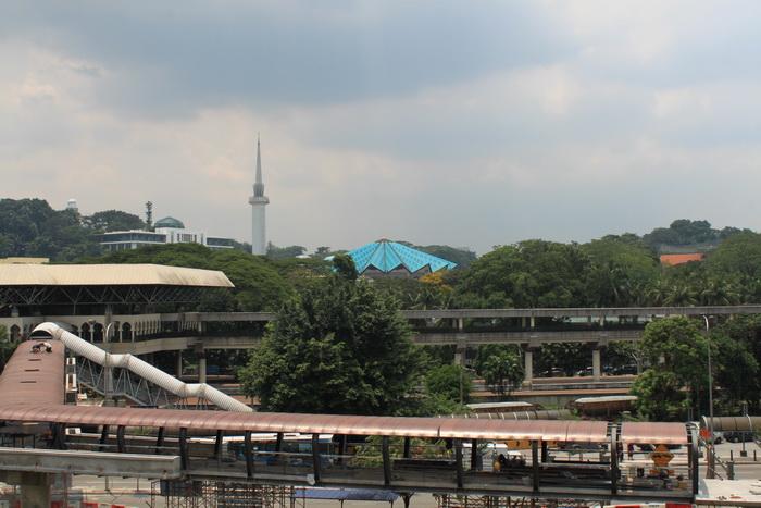 Куала-Лумпур. Новая мечеть Masjid Negara.