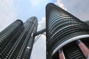 Куала-Лумпур. KLCC. Башни близнецы Петронас.