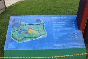 Куала-Лумпур. Центральный парк Taman KLCC.