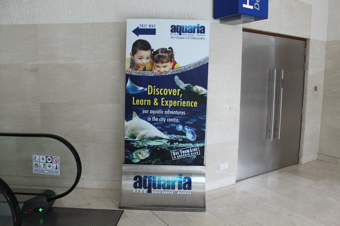 Куала-Лумпур. Океанариум Aquaria.