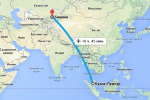 Малайзия. План поездки.