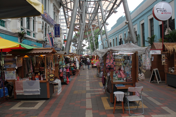 Куала-Лумпур. Сувенирный рынок Central Market.