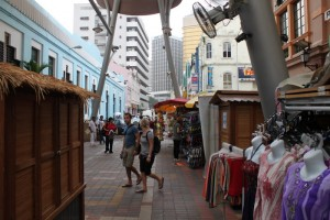 Куала-Лумпур. Сувенирный рынок Централ Маркет.