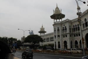 Куала-Лумпур. Офис электричек KTM Komuter.