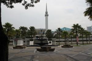 Куала-Лумпур. Мечеть Masjid Negara.