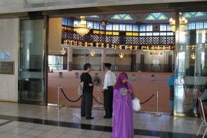 Куала-Лумпур. Главный зал мечети Масжид Негара.