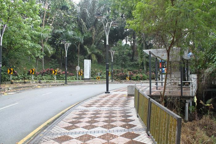 Куала-Лумпур. Парк Lake Gardens.