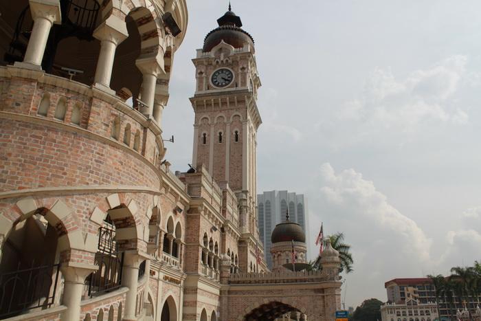 Куала-Лумпур. Площадь независимости Dataran Merdeka.