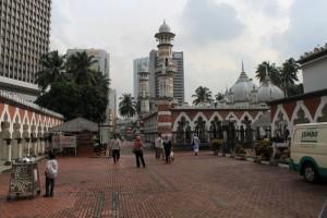 Куала-Лумпур. Мечеть Masjid Jamek.