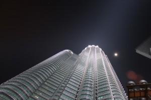 Куала-Лумпур. Башни близнецы Petronas.